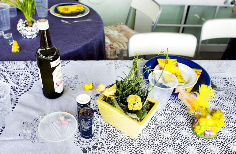 Sådan kan et påskedækket bord se ud. I Fredericia får de særligt udsatte borgere efter egne præferencer leveret et påskemåltid en af de kommende dage.