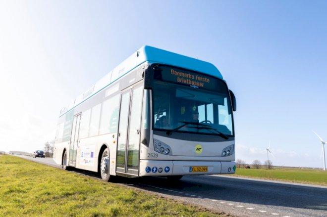 Danmarks første brintbusser ruller ud i Nordjylland