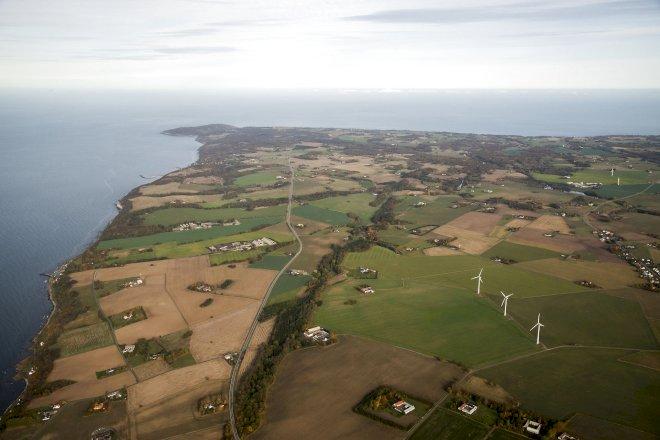 Bornholm og Samsø kåret som mest bæredygtige energi-øer
