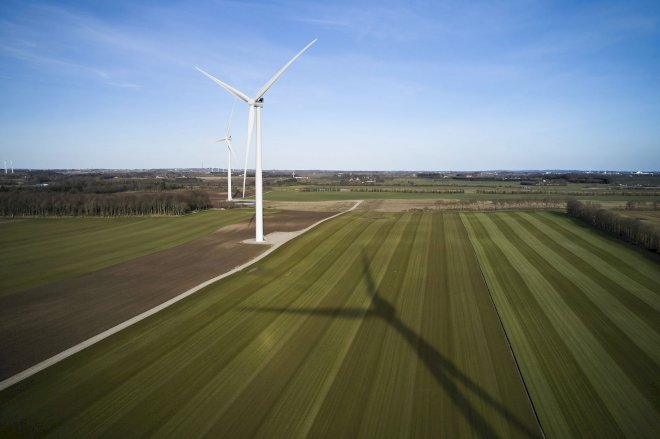 Politisk aftale forhindrer nye vindmøller på land
