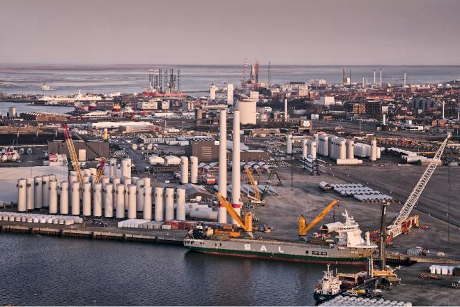Nordisk fond investerer op mod en mia. kr. i Esbjerg Havn