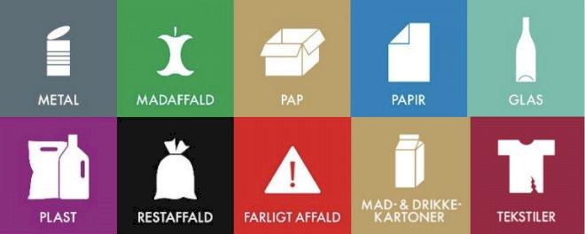 Alle kommuner skal indsamle ti slags affald