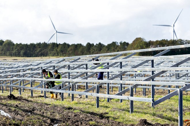 Stærke salg sikrer European Energy medgang i første kvartal