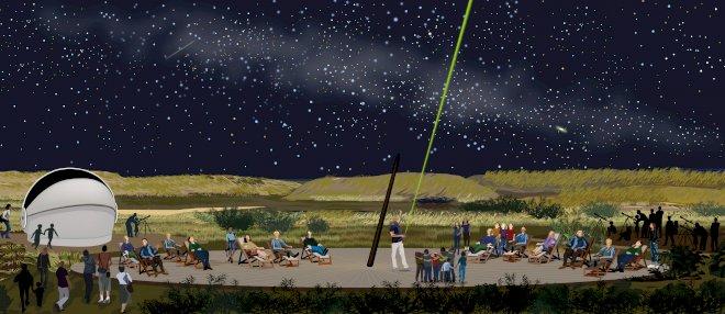 Observatorie på Mandø med australsk inspiration