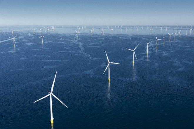 Ørsted opsætter vindmølle nummer 1.500