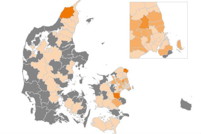 Også Helsingør og Køge er nu hårdt ramt af smitte