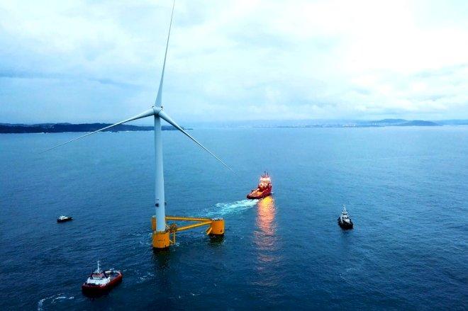 MHI Vestas når milepæl for flydende vindmøller