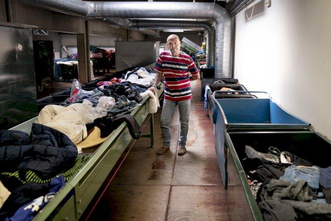 Tøjsortering risikerer at gå op i flammer