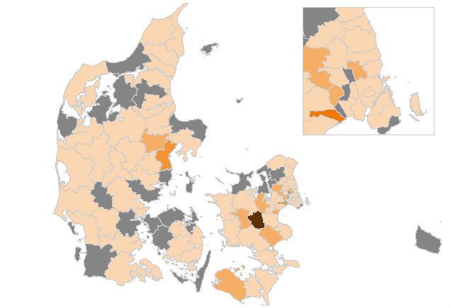 Yderligere 77 smittet med corona - hver tredje er fra Aarhus