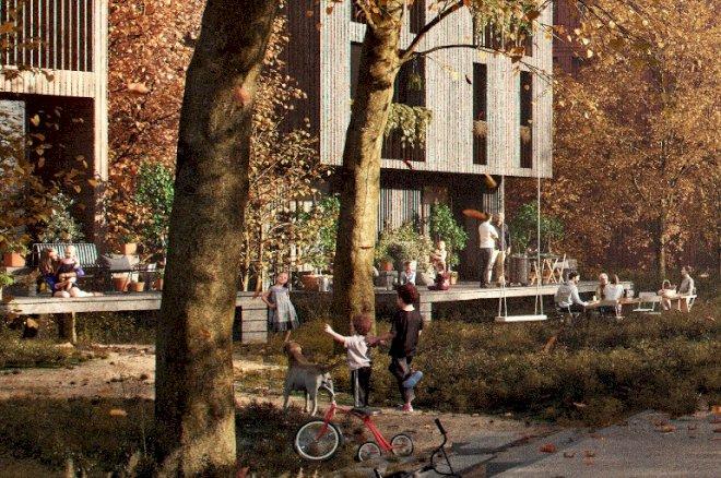 Københavns første bydel i træ vinder arkitekturpris