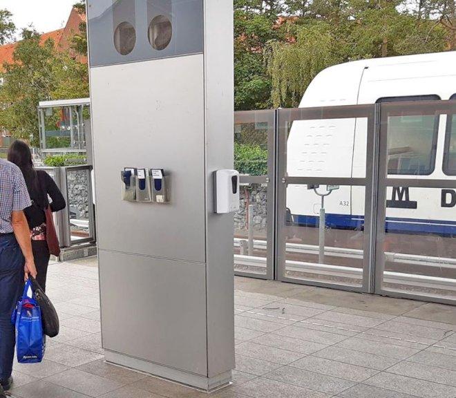 Metroen har brugt ineffektiv håndsprit siden starten af juli