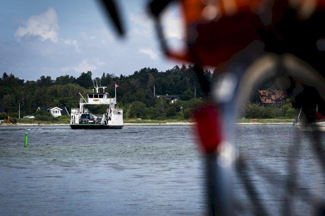 Knap en million passagerer rejste gratis med færge i juli
