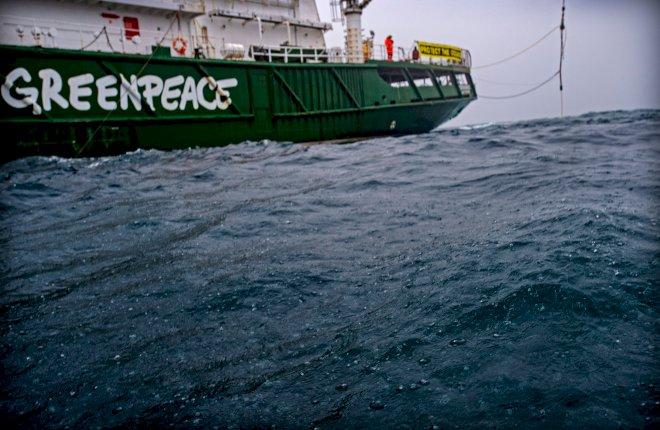 Greenpeace finder metan-lækage i den britiske Nordsø