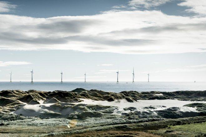 Vindenergi sætter ny rekord i Storbritannien