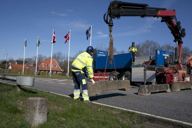 Sønderjyske grænseafspærringer fjernet i aftes