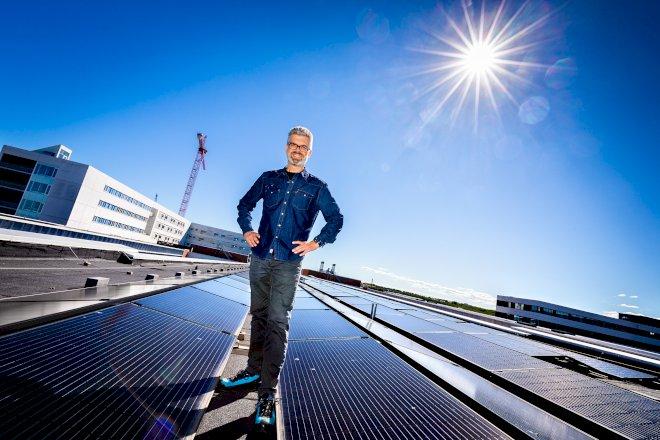 Emissionsfrit byggeri i Vanløse og et hospitalstag dækket af solceller