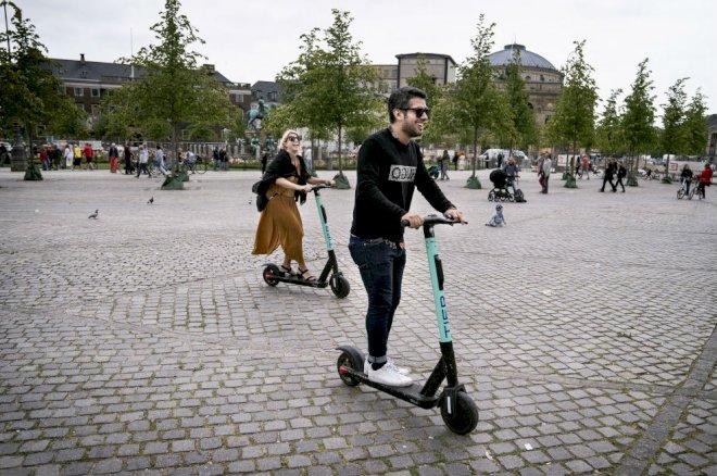 Slut med at parkere elløbehjul i indre København