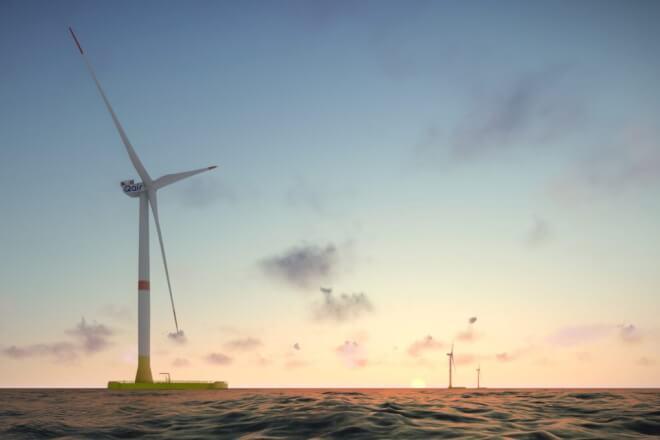 Total og MHI Vestas sammen i endnu et projekt for flydende havvind