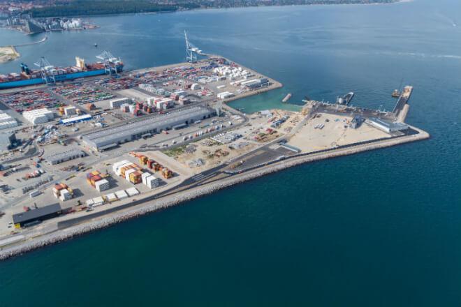Aarhus Havn klar med ny og grønnere færgeterminal