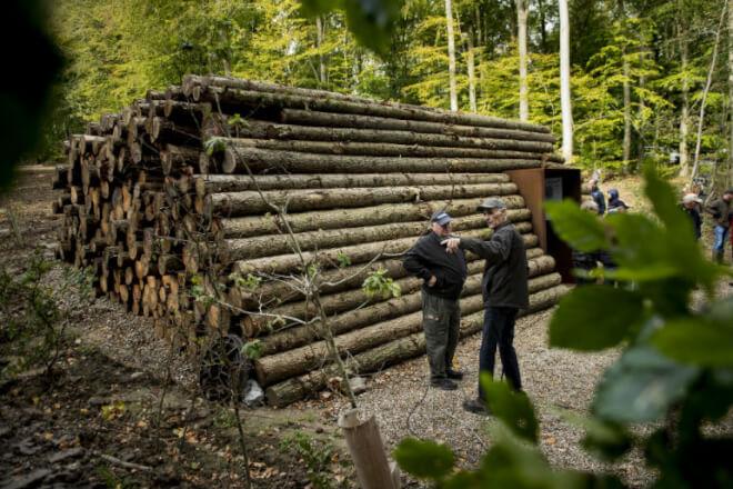 Ikke en bunke træstammer men innovativ spildevandsturbine