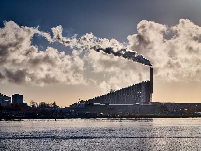 Amager Bakke vil opføre et fuldskala-anlæg til CO<sub>2</sub>-fangst med EU-midler