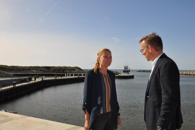 Havnekommuner kæmper om Danmarks grønne job