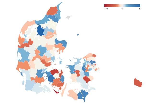 Store kommunale forskelle i indvandrerkvinders beskæftigelse
