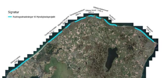 Tre kommuner klar til at rykke på beskyttelse af Sjællands nordkyst