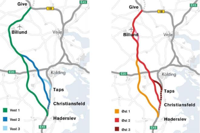 Motorvej øst om Billund er den eneste der kan betale sig