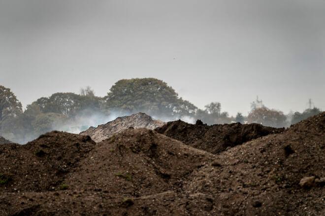 Roskilde politianmelder affaldsselskab efter kæmpebrand