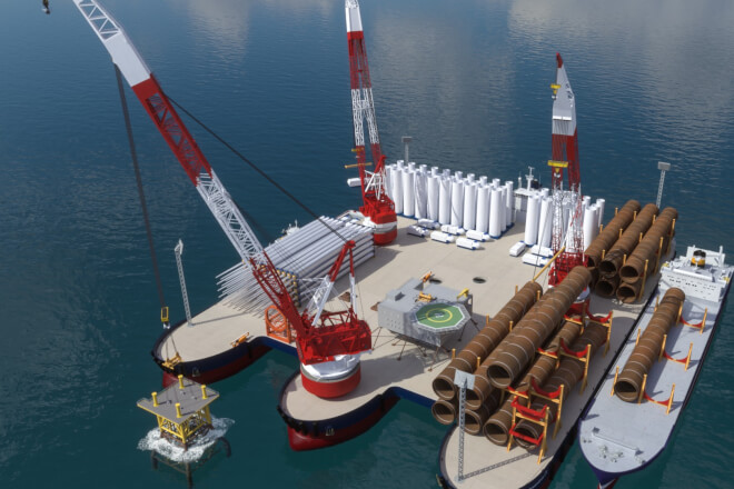 Windthrust præsenterer nyt all-in-one installationsskib