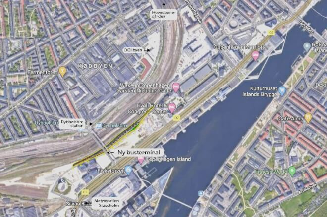København samler alle fjernbusser ved Fisketorvet
