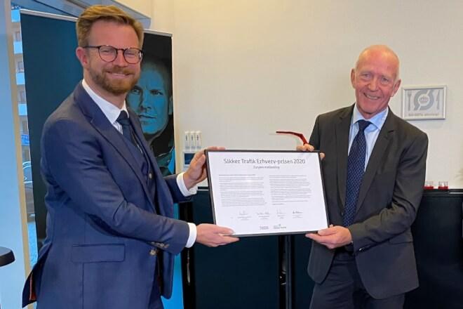 NorSea A/S Vinder Sikker Trafik Erhverv-prisen