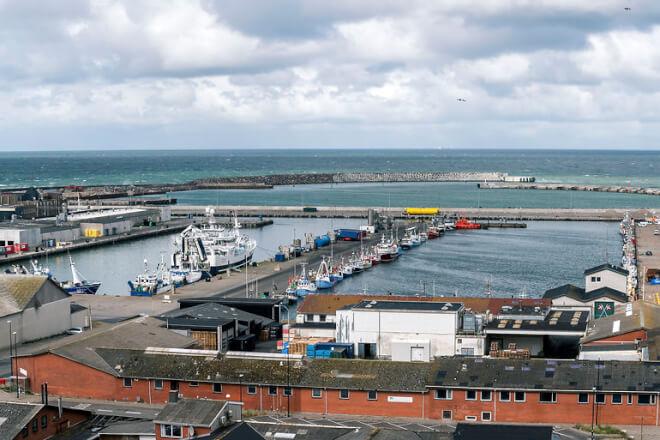 Hanstholm vil være førende fiskerihavn - i samspil med byen