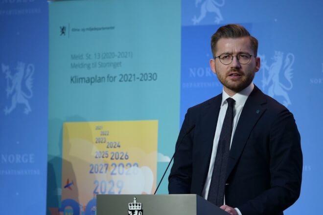 Norge flerdobler CO2-afgift i 2030