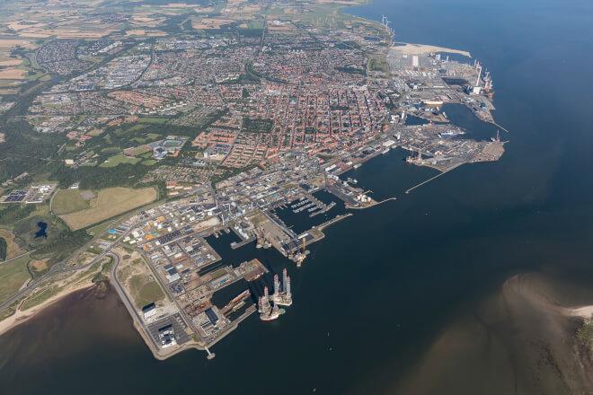 Esbjerg Havn rækker ud efter EU-millioner - vil være verdens første klimaneutrale havn
