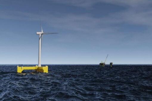 Flydende vindkraft kan gøre olie- og gasindustrien grønnere og forbedre olieudvindingen