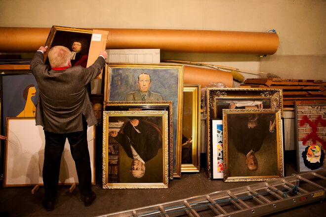 Tusindvis af kommunale kunstværker er gemt og glemt