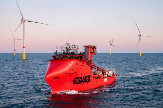 Nyt projekt skal gøre Esvagts havvindsservice emissionsfri