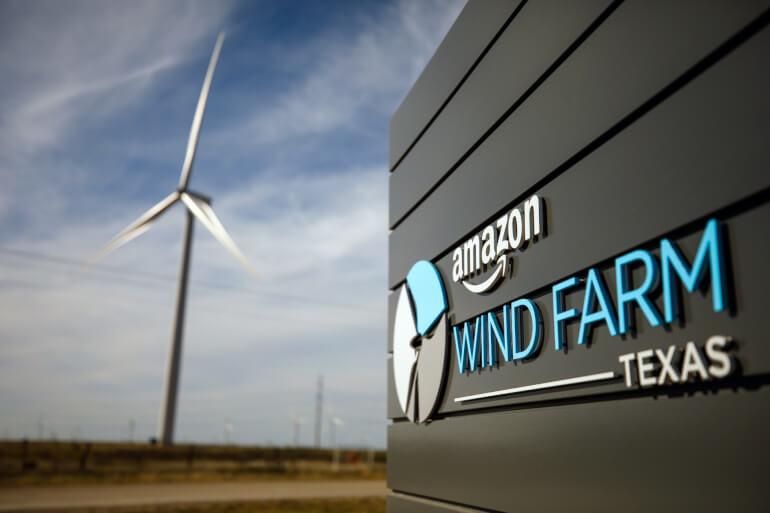 Amazon investerer i 350 MW-havvindmøllepark
