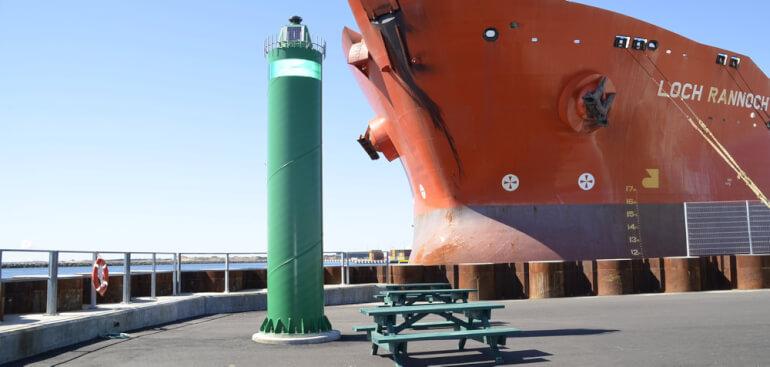 De danske havne bliver grønnere