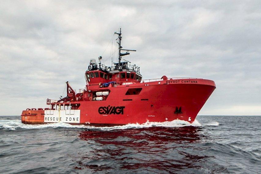 Esvagt besætning anerkendt for at redde ung kollega