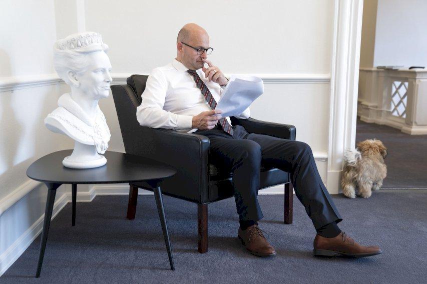 De Konservatives formand, Søren Pape Poulsen, ønsker flere friplejehjem i de af landets kommuner, hvor der er mangel på den slags. (Arkivfoto)  - Søren Bidstrup, Ritzau Scanpix