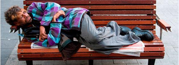 Udenlandske hjemløse fortsat et stort problem for hovedstaden