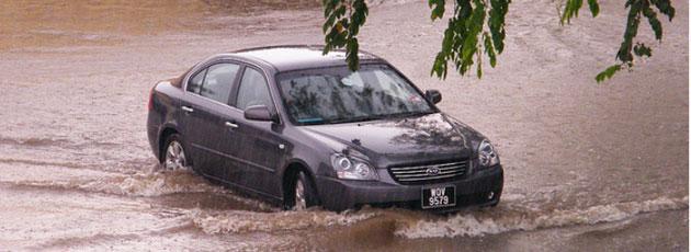 Hvor oversvømmelser vil ramme hårdest