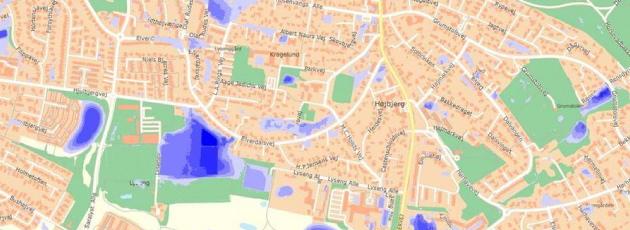 Download klimakort og se hvor vandet løber hen