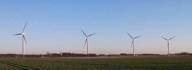 Støjrapport forsinker opsætning af vindmøller