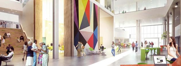 Det nye Egedal Rådhus holder budget og tidsplan - næsten da