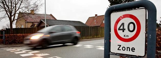 40 km/t giver markant færre ulykker i Gladsaxe