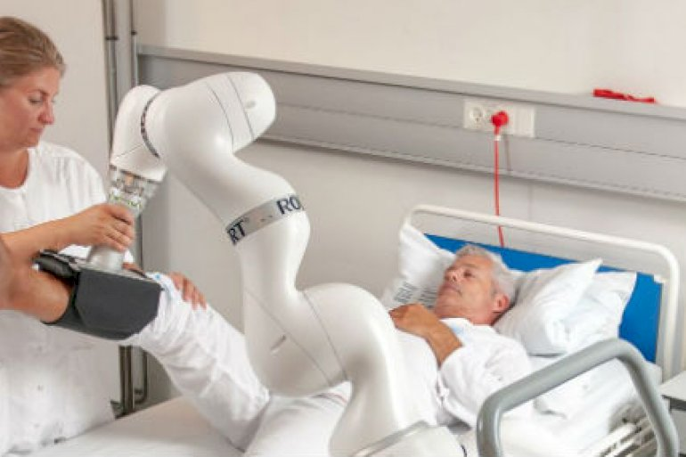 Robotten Robert<br />Foto: Life Science Robotics
